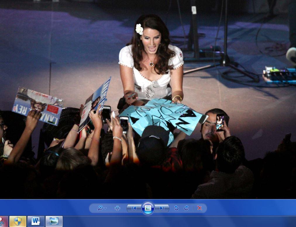 Lana del Rey fascinó en el Auditorio Nacional