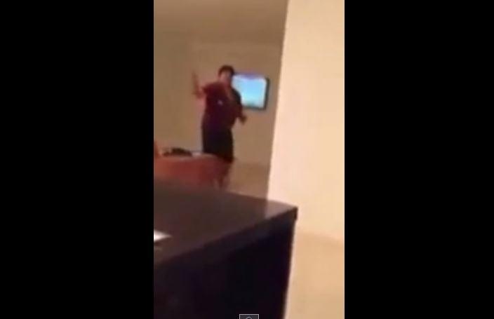 VIDEO  | Difunden en redes agresión de Maradona a su novia
