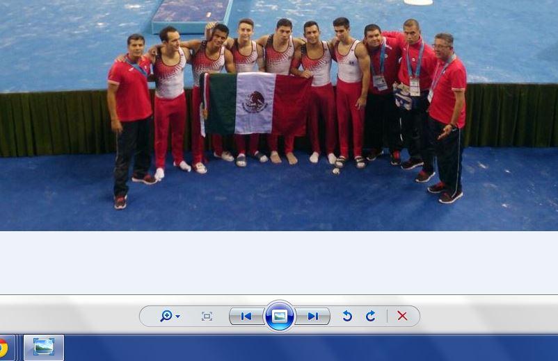 Tras 23 años, México clasifica a Mundial de Gimnasia 2015
