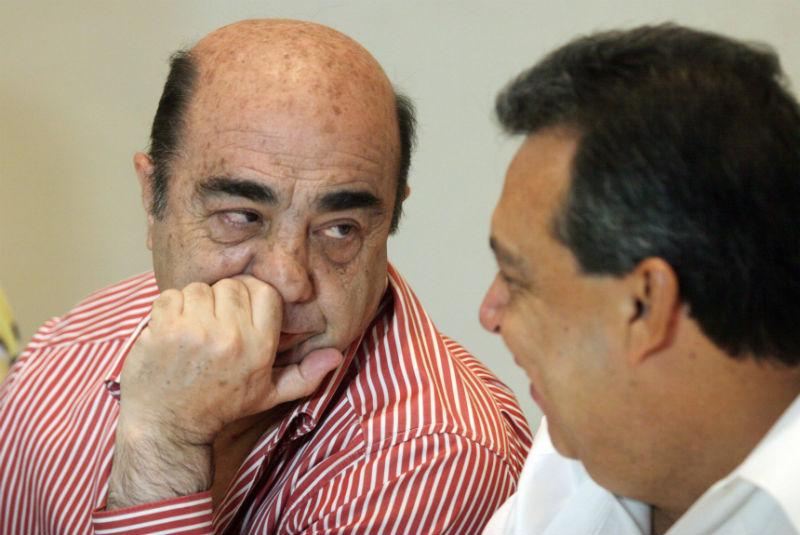 Ángel Aguirre se enfrenta a Murillo Karam