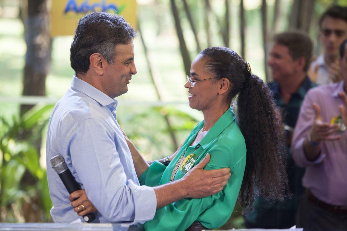 Neves y Silva forman alianza contra Dilma Rousseff