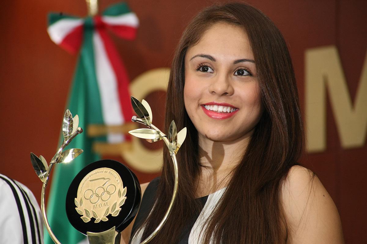Longoria, abanderada de México para Juegos Centroamericanos