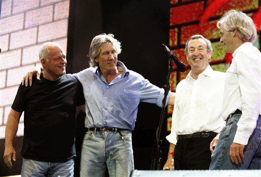 ¿Roger Waters con Pink Floyd en concierto de beneficiencia?