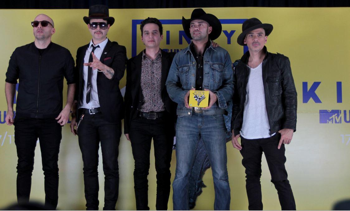 """Kinky reinventa sonidos en su nuevo disco """"MTV Unplugged"""""""