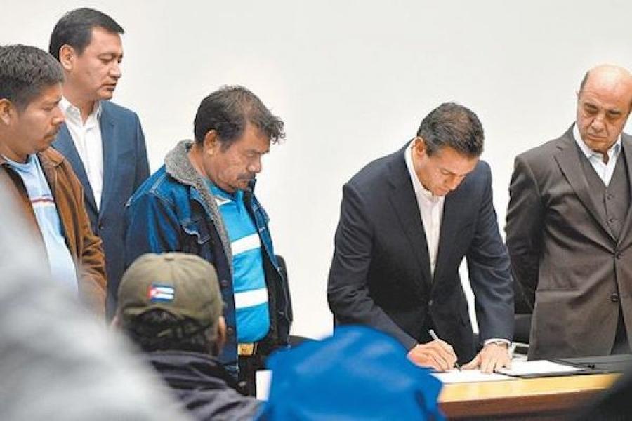 ¿Quién organizó la celada al Presidente en Los Pinos?