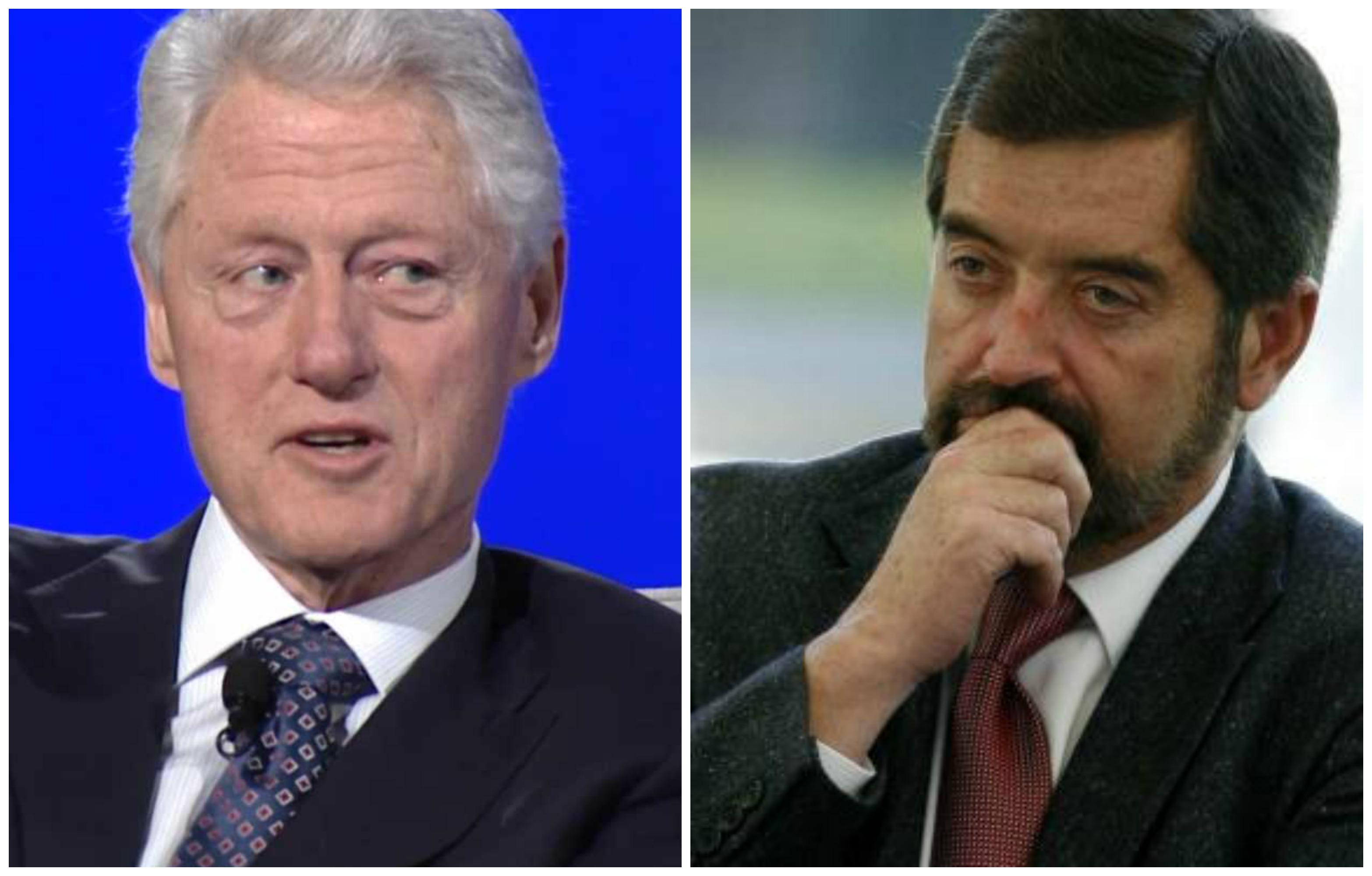 Clinton y De la Fuente, juntos otra vez
