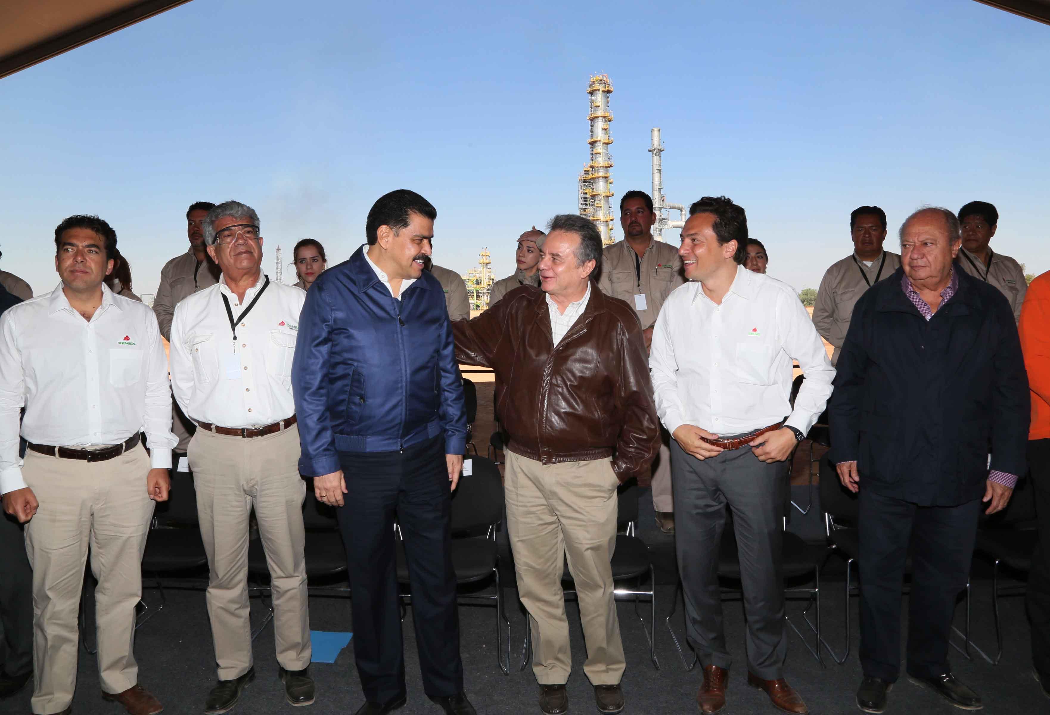 Inicia histórica reconfiguración de la refinería Miguel Hidalgo