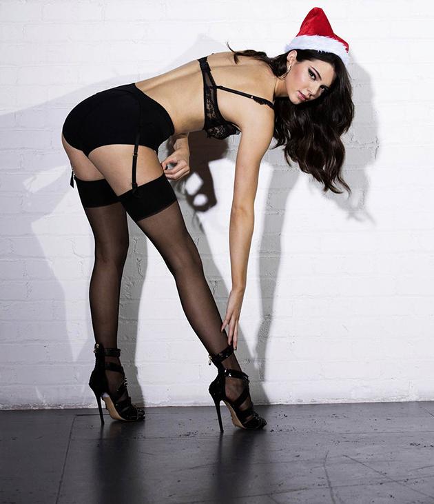 Lleva Kendall la Navidad a la casa Kardashian