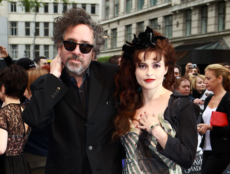 Helena Bonham Carter y Tim Burton se separan