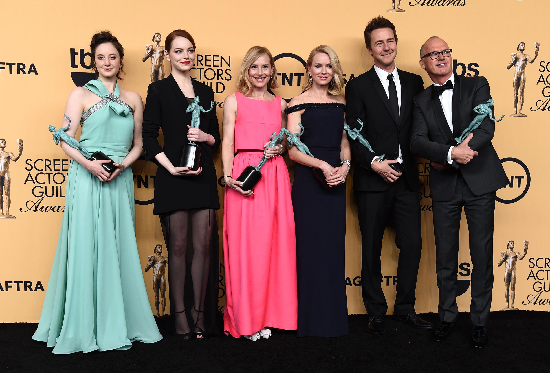 'Birdman' gana el premio al mejor elenco en los SAG