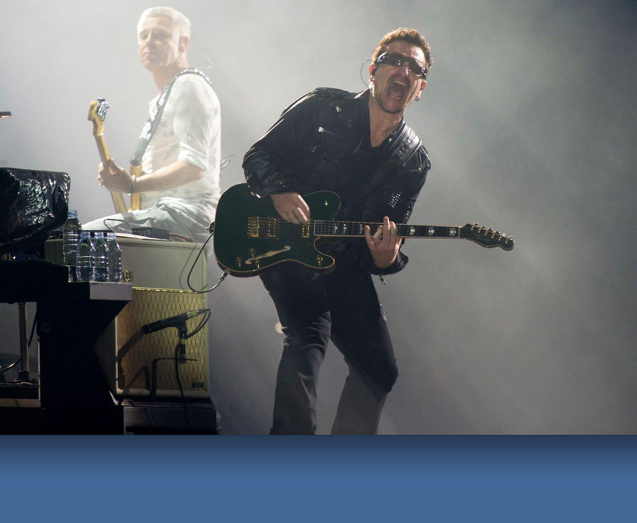 Bono ¿ya no podrá tocar la guitarra?