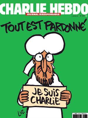Este es el nuevo ejemplar de 'Charlie Hebdo' tras atentado