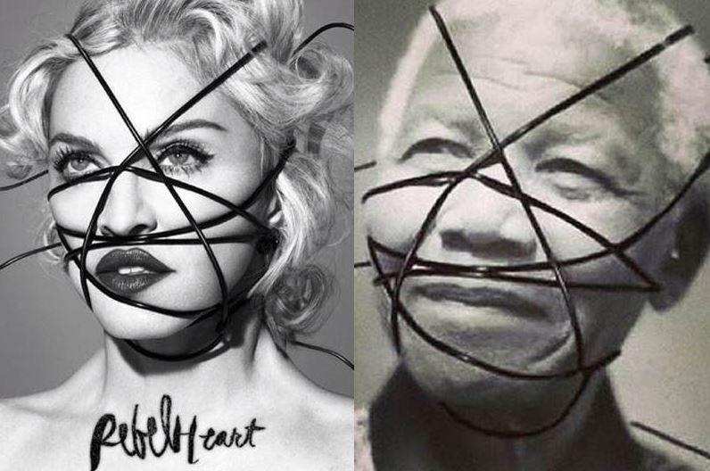 Madonna se defiende por fotos de Mandela
