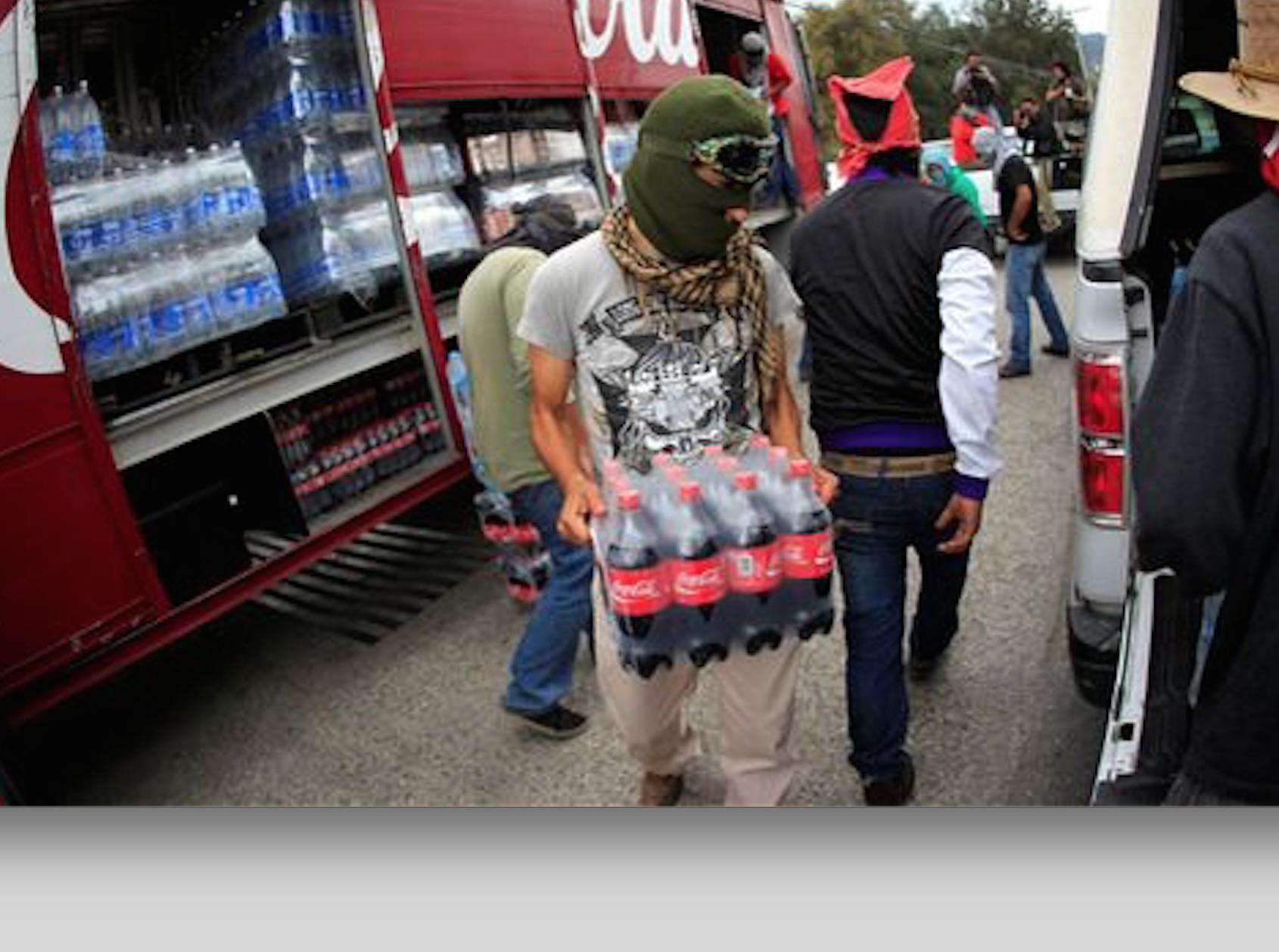 Suspende Coca-Cola servicio en Chilpancingo