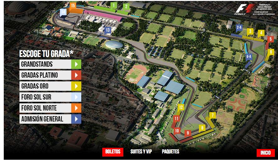 Hasta 18 mil 750 boleto para ir al gran premio de m xico for Puerta 9 autodromo