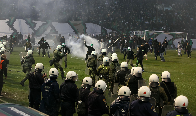 Greece Soccer Violence