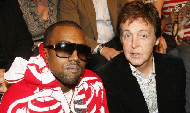 Alista Kanye West actuación con McCartney en los Grammy