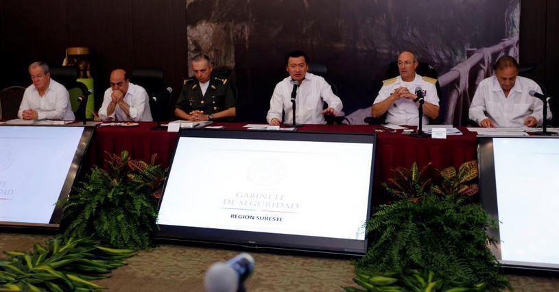 """""""México, en los mejores niveles de seguridad en 10 años"""""""