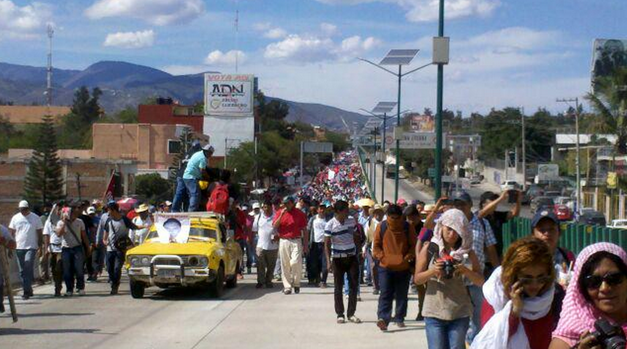 Colapsan marchas diversas zonas de Guerrero