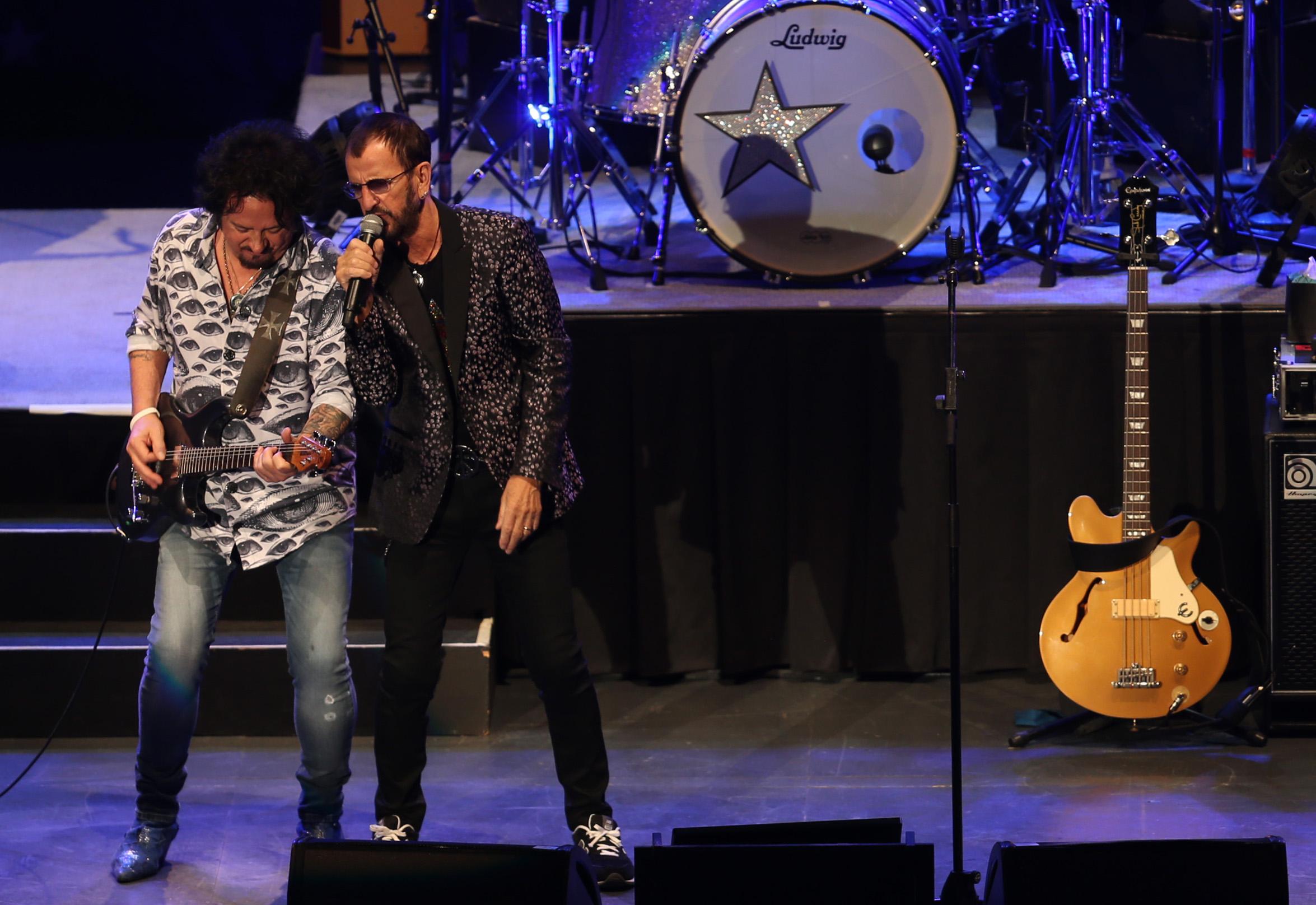 Ringo Star y su mágico show