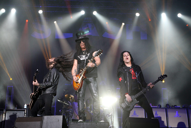 Slash, amo de la guitarra