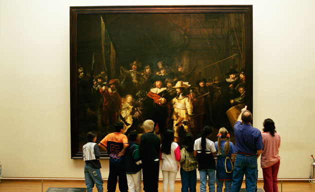 Rembrandt al final
