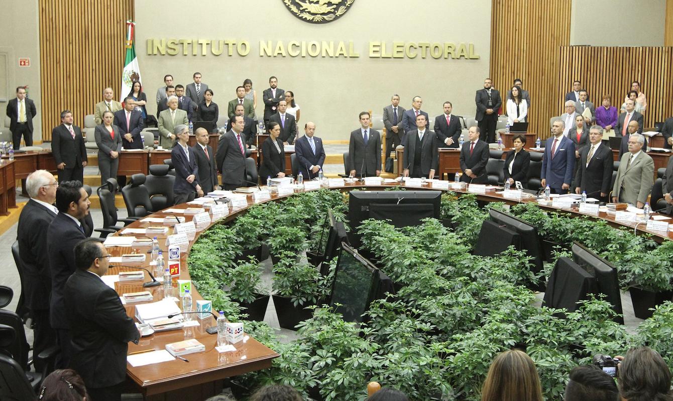 INE pide no militarizar elecciones