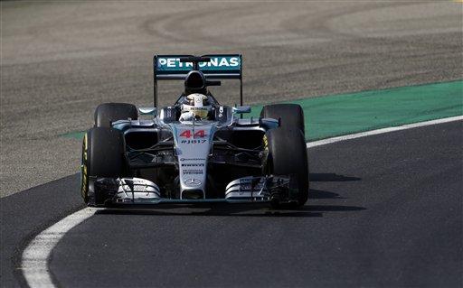 Hamilton, a la cabeza en GP