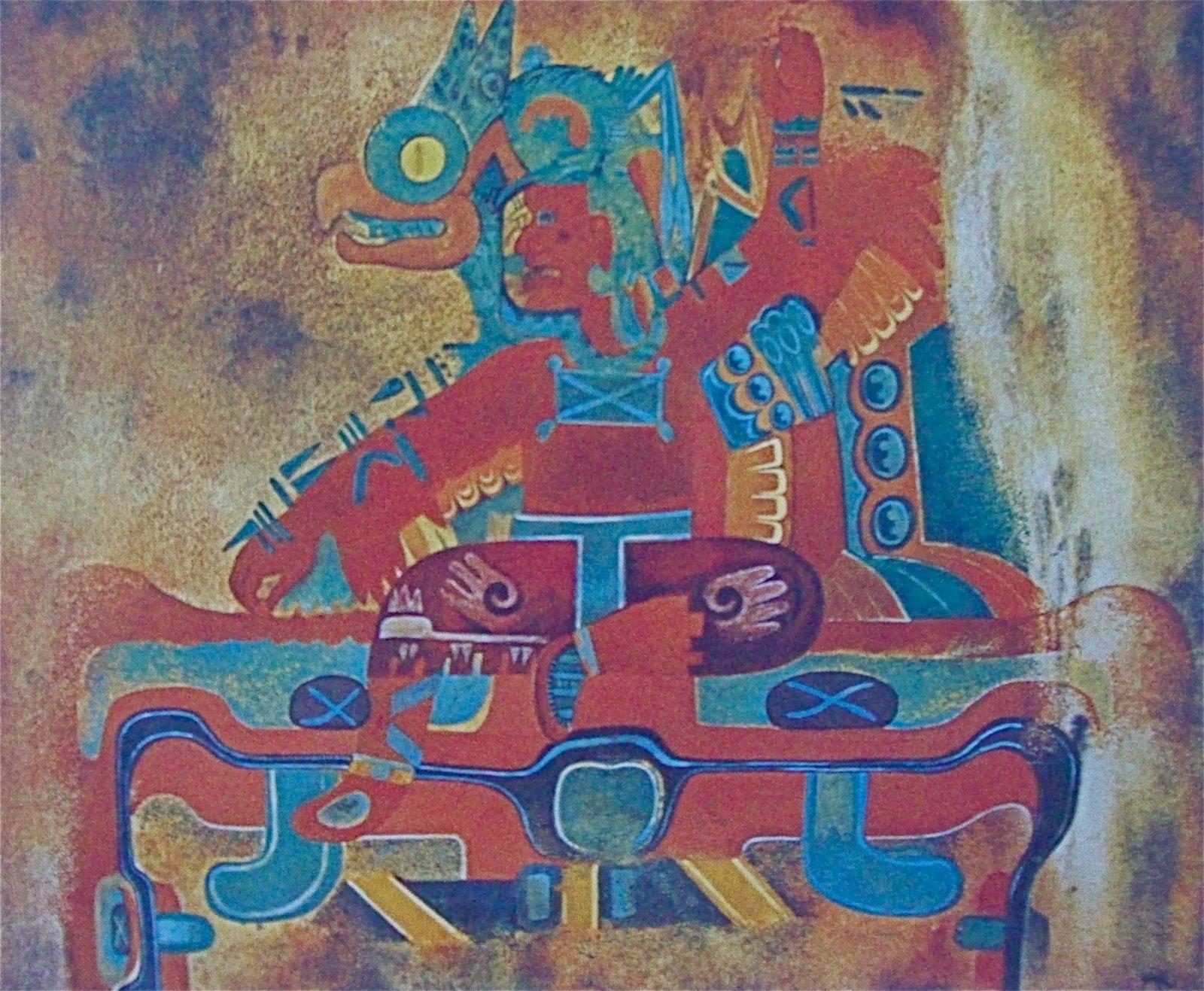 Restauran pinturas olmecas de Oxtotitlán