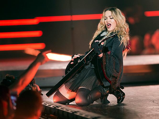 Espectacular concierto de Madonna en DF