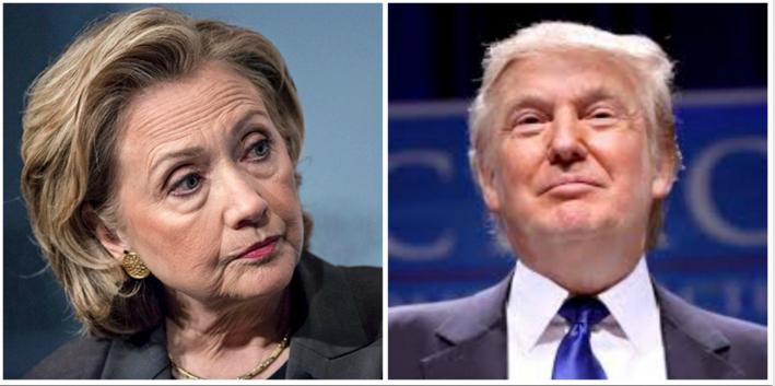 Hillary y Trump, en empate técnico
