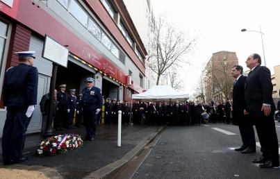 Honran a policía asesinada por Coulibaly