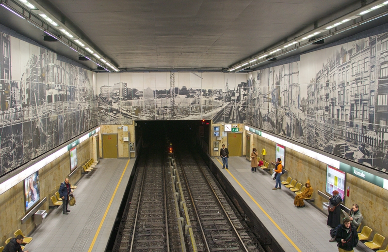Metro de Bruselas reabrirá el miércoles