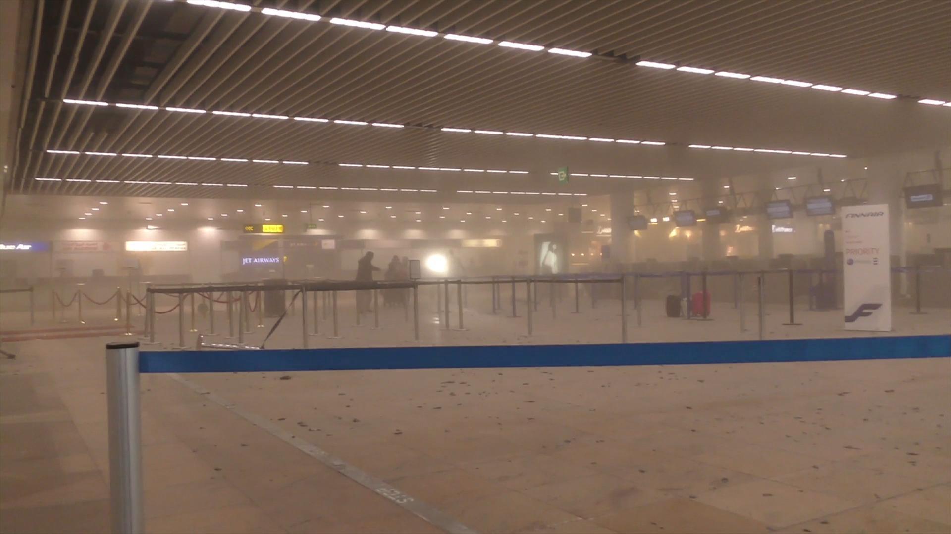 Aeropuerto belga tardará en recuperarse