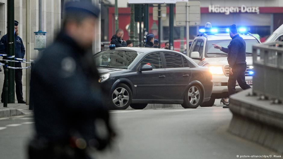 Explosión durante operación policial: Bruselas