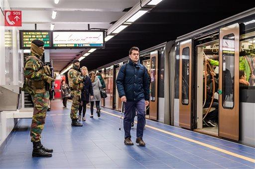 Reabre estación de metro belga