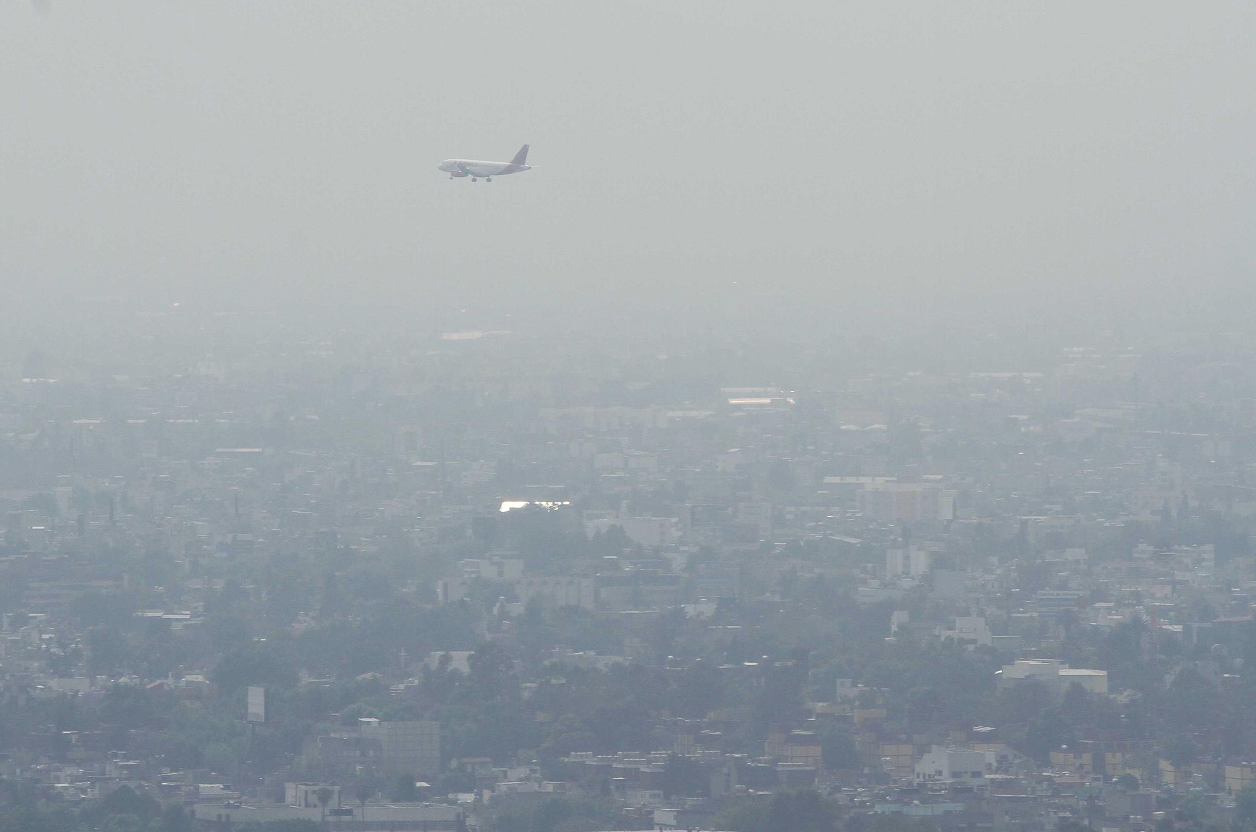 Mala calidad del aire en Ecatepec, Tutlitlán, Coacalco y CDMX