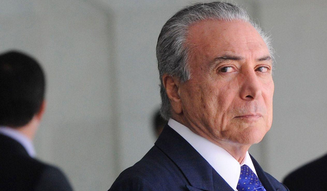 Detienen al expresidente brasileño Michel Temer por caso Lava Jato