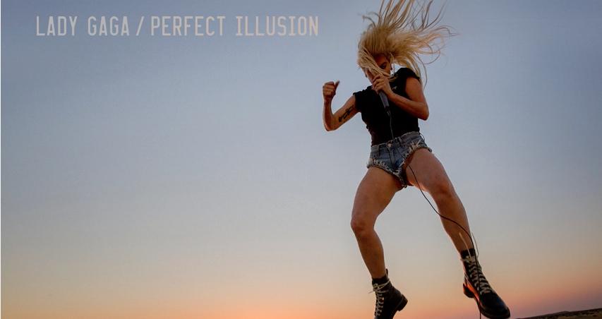 """Lady Gaga lanza """"Perfect illusion"""""""