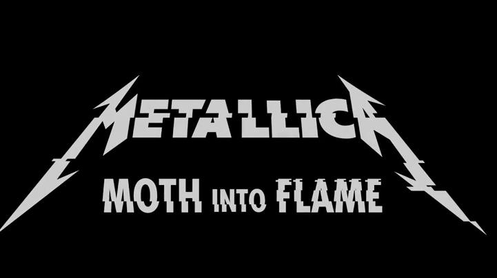 Metallica lanza Moth Into flame