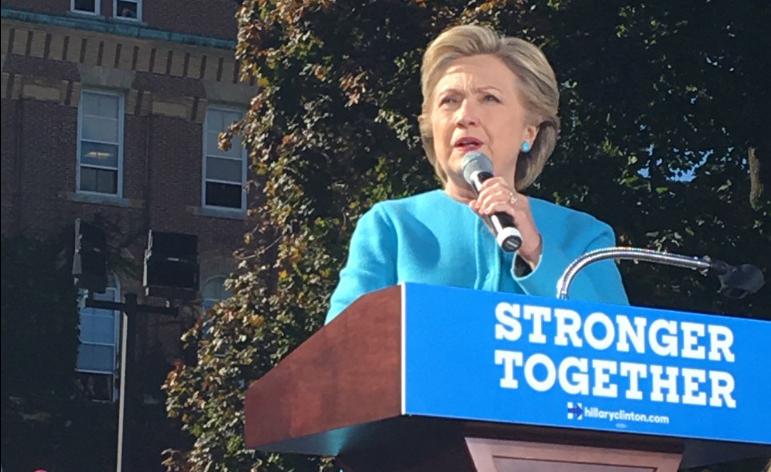 """""""Nasty women"""", el nuevo slogan de Clinton"""