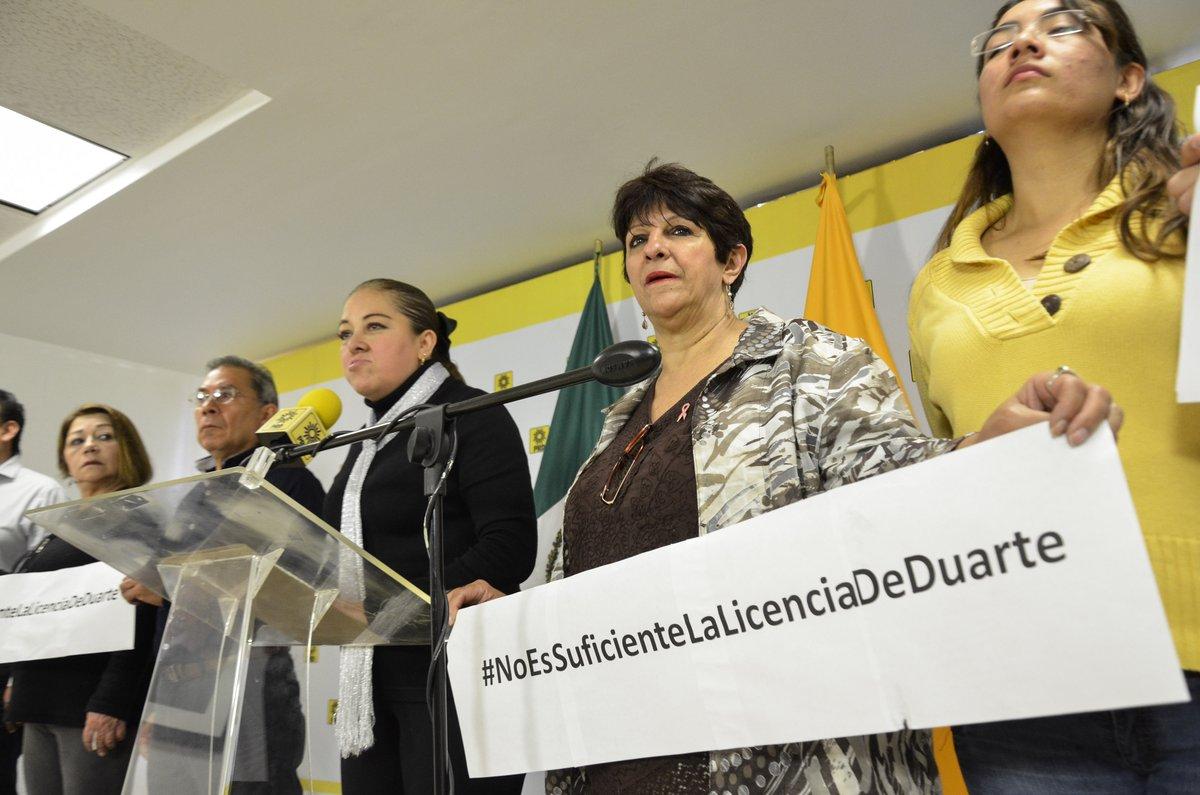 Incauten bienes a Duarte, exige PRD