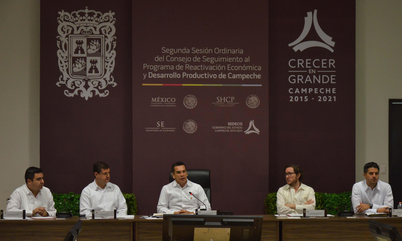 Acuerdan reforzar acciones del programa de reactivación Económica