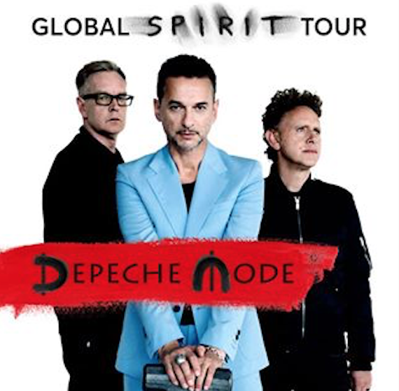 Depeche Mode anuncia lanzamiento de Spirit