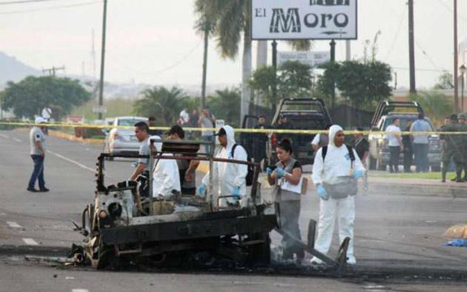 Ejército revisa armas a policías de Sinaloa