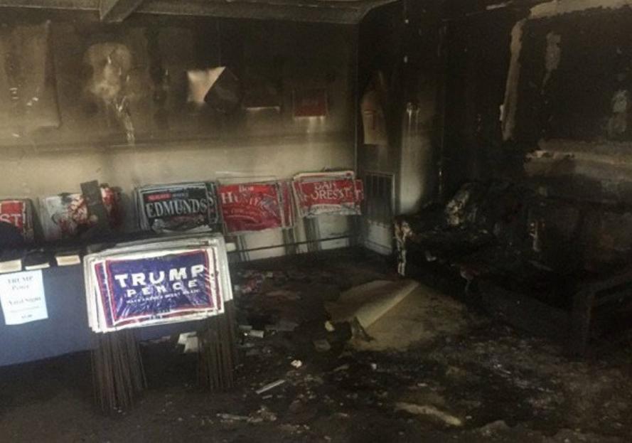"""Califican de """"terrorismo político"""" ataque a oficinas republicanas"""
