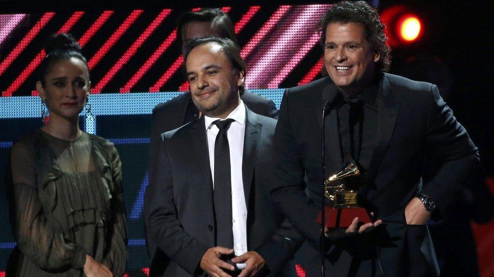 Colombianos, los ganadores del Latin Grammy