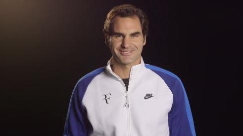Así anuncia Federer participación en partido benéfico