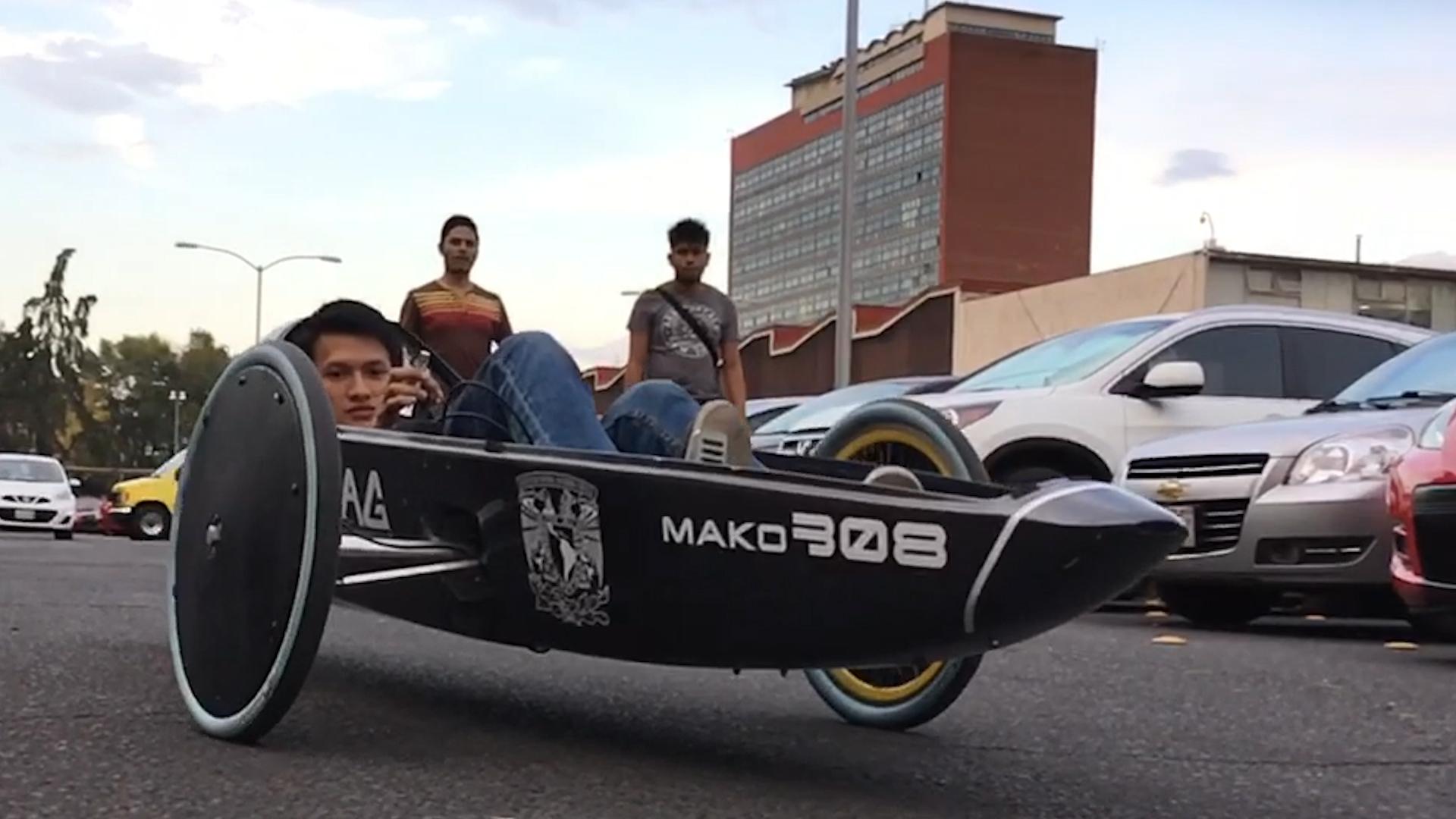 """El """"tiburón"""" eléctrico de la UNAM"""