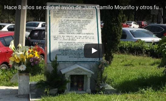 Hace ocho años cayó el avión de Mouriño | VIDEO